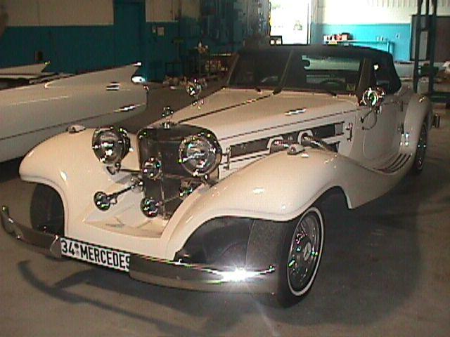 1934 Mercedes-Benz Cabriolet (Replica) 2000 Miles - $27,900